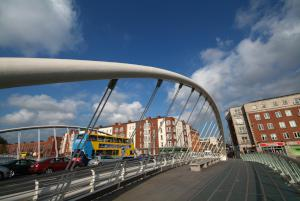 James Joyce bridge - Image courtesy of Dublin Tourism